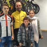 Miłość do roweru przekazałem dzieciom