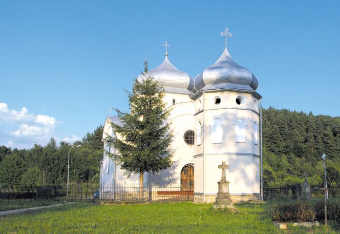 Z wizytą w Miedzybrodziu. Cerkiew na skale