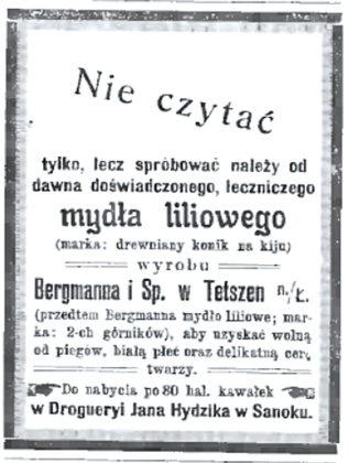 rekl6 317x420 - O reklamach z dawnych gazet