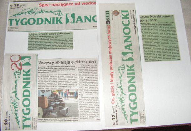 """PICT0005 612x420 - Kolejna zbiórka elektrośmieci w """"ekonomiku"""""""