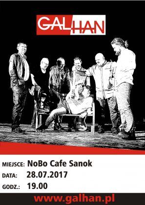plakat nobo 2017 1 297x420 - NoBo Cafe zaprasza na koncert zespołu Galhan