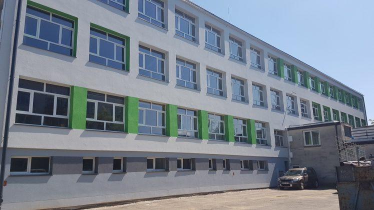 Trwa termomodernizacja budynku Zespołu Szkół nr 4 w Sanoku