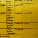 Autobusy z Sanoka do Wetliny i Ustrzyk Górnych