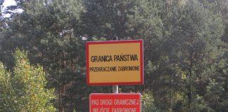Kosztowne selfi na granicy w Bieszczadach