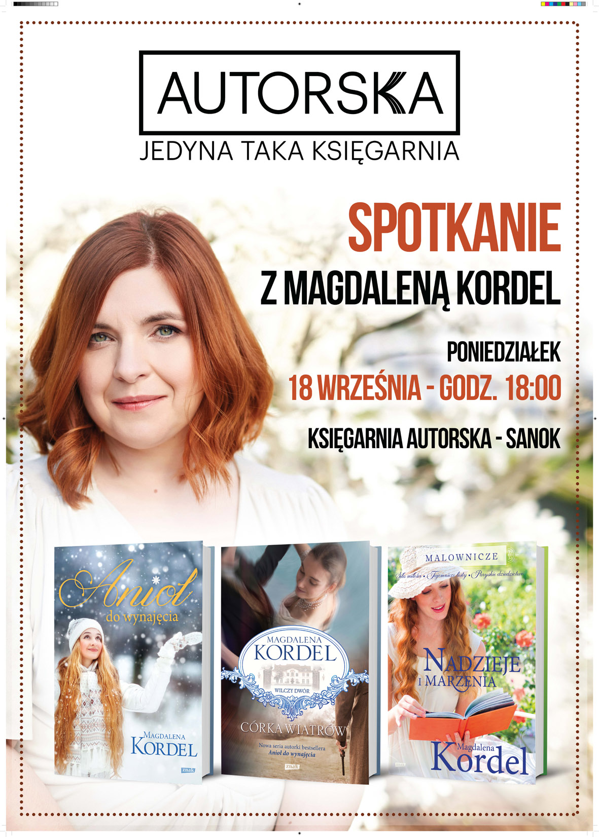 Magdalena Kordel w Autorskiej!