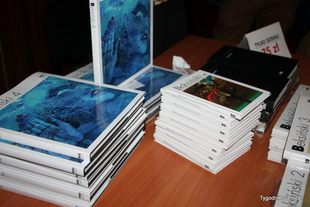 IMG 6014 001 630x420 - Beksiński 4 Nowy album trafił do księgarń