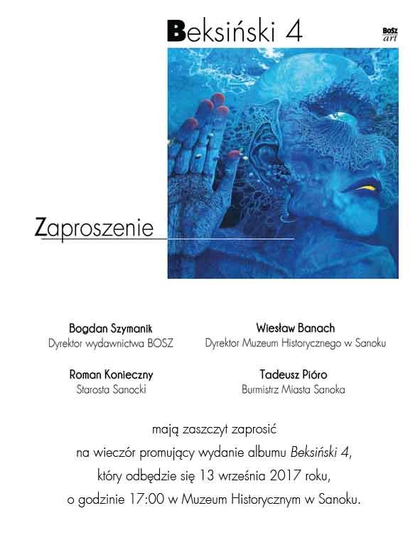 """attachment1.2.2 - Wieczór promujący wydanie albumu """"Beksiński 4"""""""