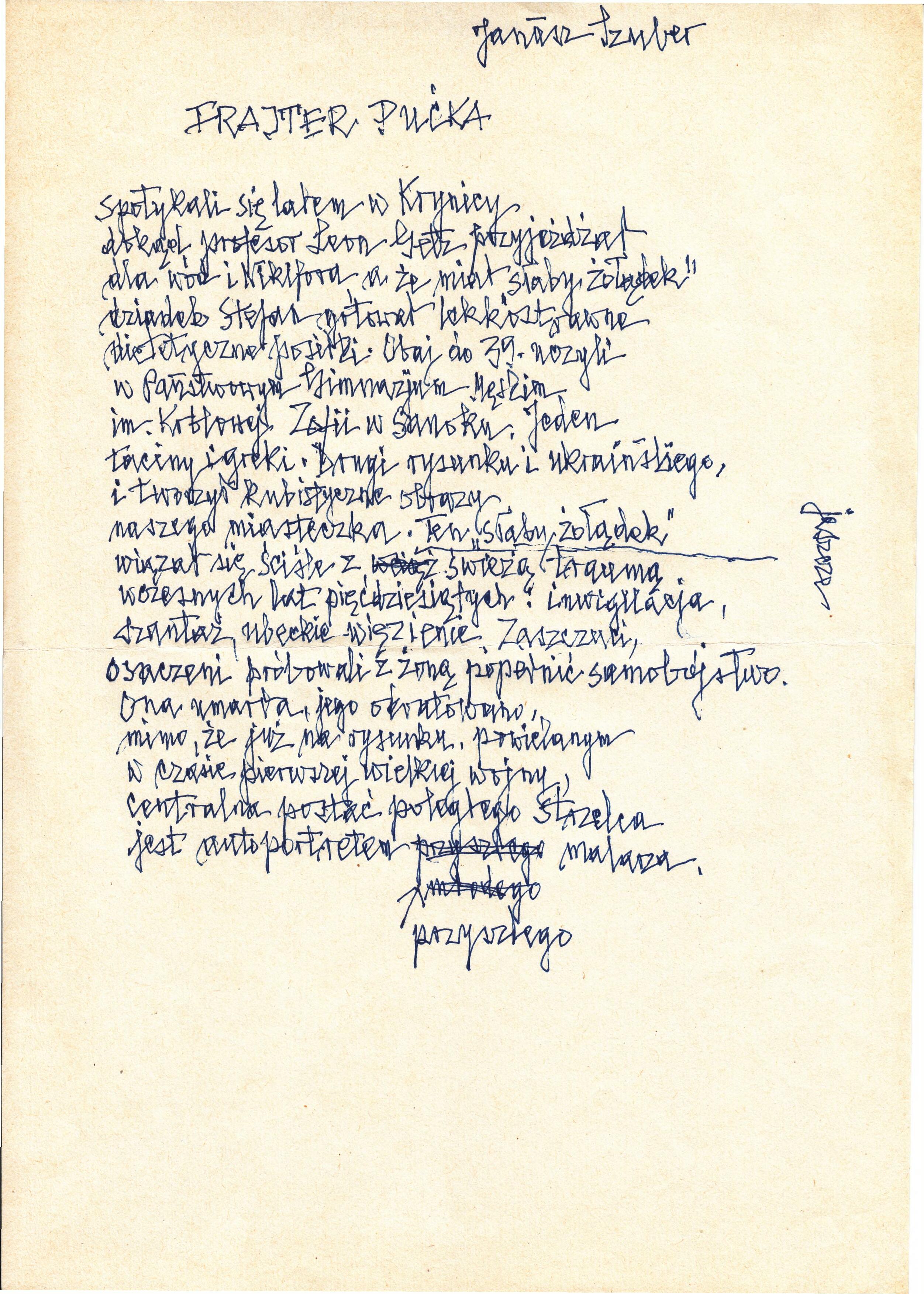 """szuber - Muzeum Historyczne i """"Tygodnik Sanocki"""" zapraszają na pierwsze spotkanie z cyklu """"Urodziny Poety"""""""