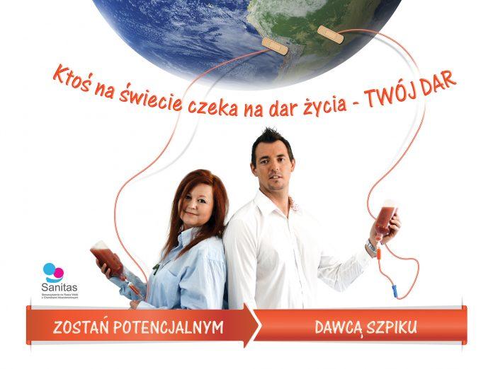 13 października - Dzień Dawcy Szpiku, historie dawców z Sanoka