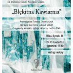 "Promocja książki Kalmana Segala – ""Błękitna Kawiarnia"""