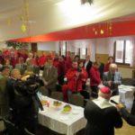 Opłatek przewodników podkarpackich w OWR Caritas w Myczkowcach