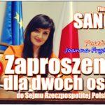 Do Sejmu z Posłanką Frydrych i na zwiedzanie Warszawy? Licytuj