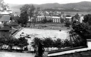 basen sanok 2 300x190 - Sanockie baseny wczoraj i dziś