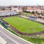 Wierchy 2018 - prace ziemne związane z drenażem stadionu