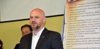 Pierwszy kandydat na burmistrza Jakub Osika