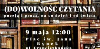 Miejska Biblioteka Publiczna zaprasza na (DO)WOLNOŚĆ CZYTANIA