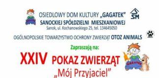"""14 POKAZ ZWIERZĄT """"Mój przyjaciel"""" ODK """"Gagatek"""" zaprasza"""