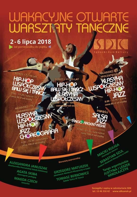 1 warsztatytaneczne - Wakacyjne Otwarte Warsztaty Taneczne