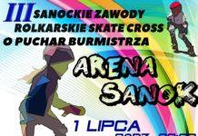 III Sanockie Zawody Rolkarskie Skate Cross o Puchar Burmistrza