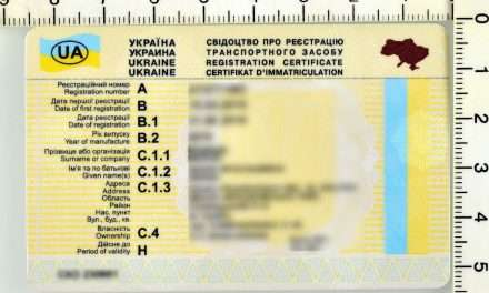 Nieudana próba wykorzystania fałszywego dowodu rejestracyjnego