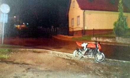 Zatrzymany podczas kradzieży motocykla