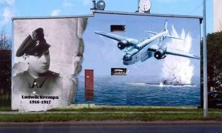 Mural poświęcony Ludwikowi Krempie