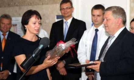 Otwarcie zmodernizowanego oddziału onkologicznego w Przemyślu