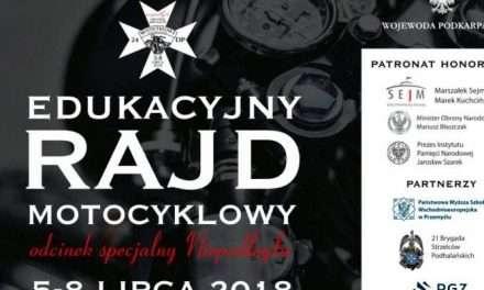 Edukacyjny Rajd Motocyklowy – odcinek specjalny Niepodległa