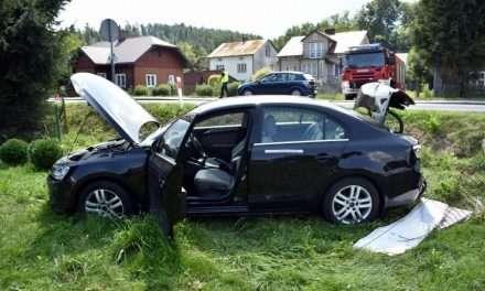 80-letni kierowca spowodował kolizję