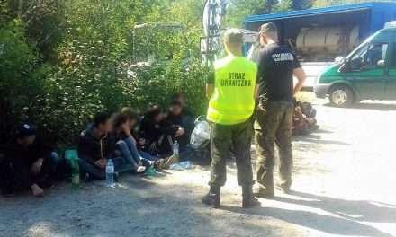 Wietnamczycy nielegalnie przekroczyli granicę w Bieszczadach