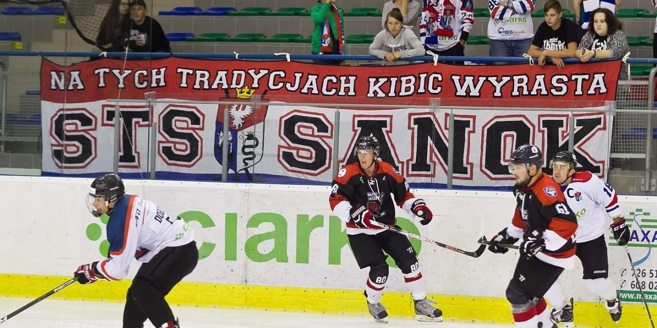 Ciarko KH 58 Sanok – Hokejový klub 2016 Trebišov 1-2