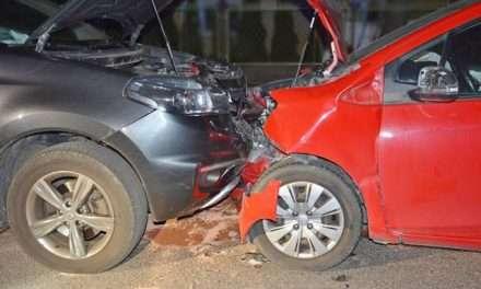 Wypadek drogowy w Posadzie Górnej