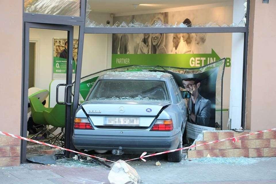 Niecodzienny wypadek na Jagiellońskiej