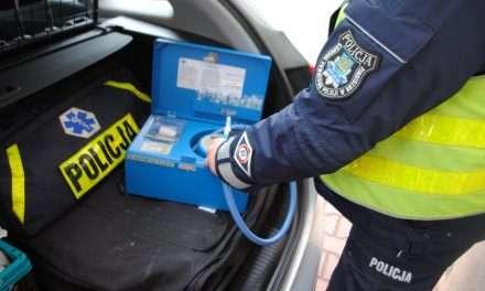 Nietrzeźwy kierowca ujawniony przy kontroli drogowej