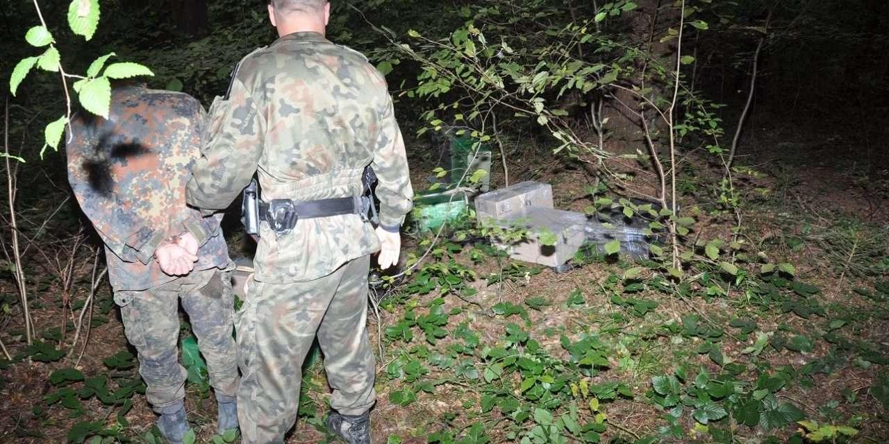 Przemyt przez zieloną granicę z Ukrainy do Polski ujawniony w okolicach Kwaszeniny