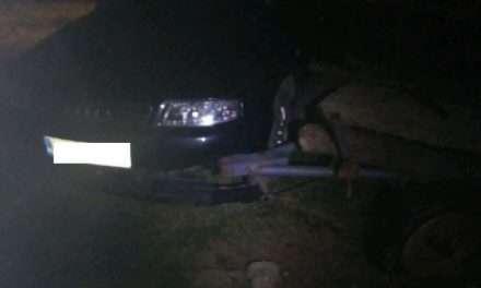 Pijany kierowca zasnął za kierownicą samochodu