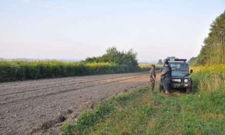 Irakijczyk wybierał się pieszo do Niemiec