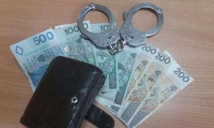 Policjanci ustalili sprawcę przywłaszczenia portfela