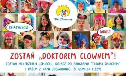 """""""Leczenie śmiechem"""" chorych dzieci – Fundacja """"Dr Clown"""" wkracza na Podkarpacie. I zaprasza do współpracy"""