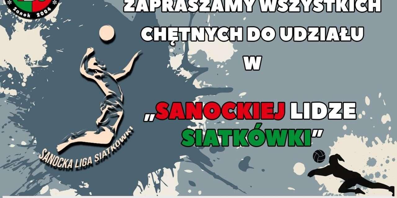 Rusza Sanocka Liga Siatkówki