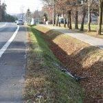 8-letni rowerzysta ranny w wypadku drogowym
