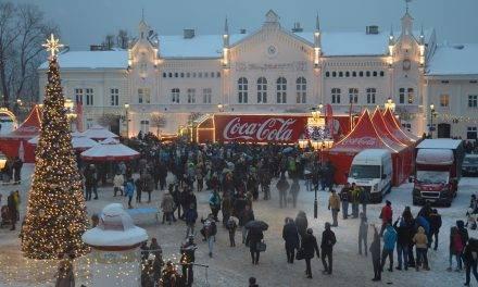 Świąteczna Ciężarówka Coca-Coli w Sanoku? Wszystko w Twoich rękach!