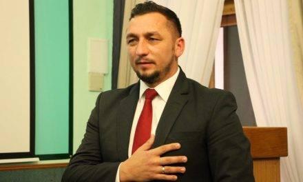 Zaprzysiężenie burmistrza Tomasza Matuszewskiego