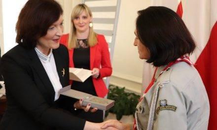 """Uroczystość wręczenia """"Medali 100-lecia Odzyskania Niepodległości"""""""