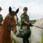20 lat tradycji służby konnej w Bieszczadzkim Oddziale SG