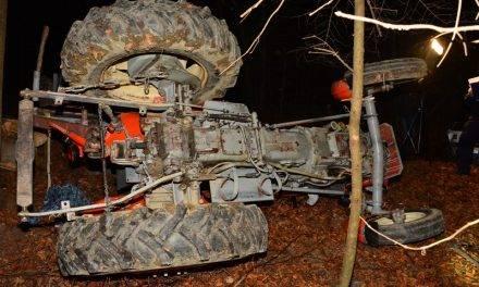 36-latek zginął przygnieciony przez ciągnik rolniczy