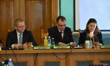 Zofia Kordela-Borczyk i Grzegorz Kozak zostali wybrani wiceprzewodniczącymi Rady Miasta Sanoka