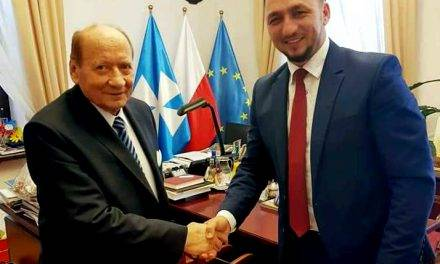 Burmistrz Tomasz Matuszewski spotkał się z prezydentem Rzeszowa
