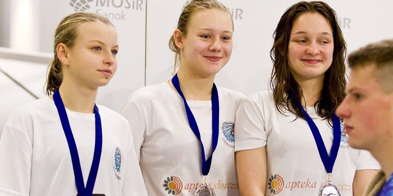 Zimowe Mistrzostwa Okręgu Podkarpackiego 2018 w pływaniu. Sanok 1-2.12.2018