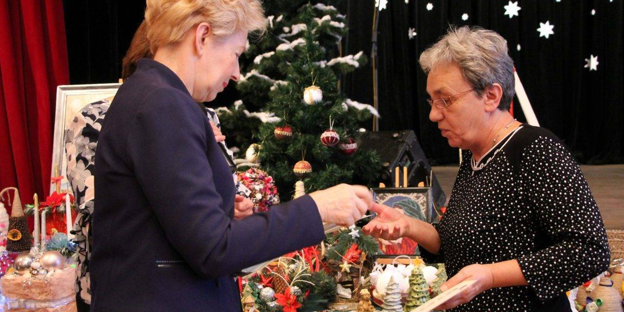 Wystawa bożonarodzeniowa w Klubie Górnika